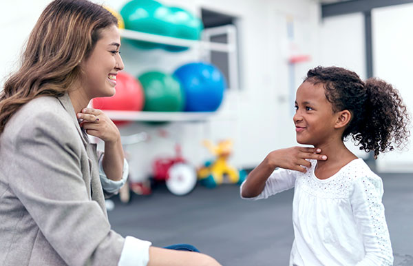 Speech and Language therapy sessions